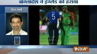 getlinkyoutube.com-ICC Cricket World Cup 2015: Bangladesh Knocks Out England - India TV