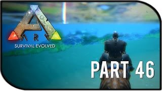 "getlinkyoutube.com-ARK: Survival Evolved Gameplay Part 46 - ""NEW UPDATE W/ PLESIOSAUR + ICHTHYOSAUR, OUR ARGENTAVIS!"""