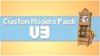getlinkyoutube.com-Cinema 4D Custom Models Pack v3! (Minecraft)