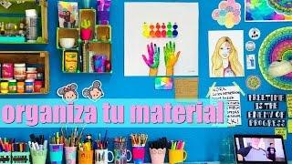 Ideas para organizar tu material ♡ Dani Hoyos Art