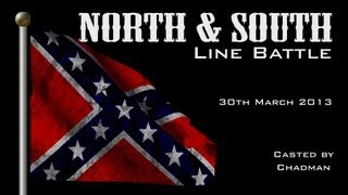 getlinkyoutube.com-Mount and Blade Line Battle - North & South Mod (American Civil War) - Saturday Event  (30-03-2013)
