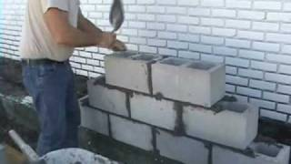 getlinkyoutube.com-EZ Concrete, Cement, Cinder Block and Brick Laying using Joint Spacers