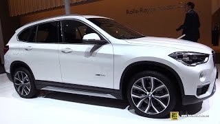 getlinkyoutube.com-2016 BMW X1 xDrive 25i - Exterior and Interior Walkaround - Debut at 2015 Frankfurt Motor Show