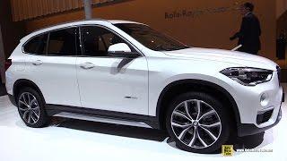 2016 BMW X1 xDrive 25i - Exterior and Interior Walkaround - Debut at 2015 Frankfurt Motor Show