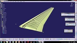 getlinkyoutube.com-CATIA V5: The Basics - Tutorial 6: Wireframe & Surfacing Part 2 ¦ WingBox Design