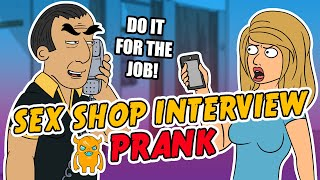 getlinkyoutube.com-Steamy Sex Shop Interview Prank - Ownage Pranks