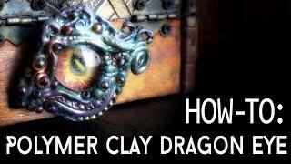 Tutorial - Polymer Clay Dragon Eye (Part 2)