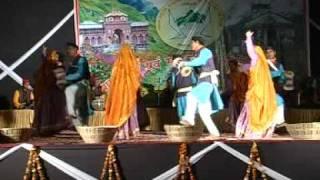getlinkyoutube.com-Garhwali holi geet sandhya mayur vihar 3, kumaoni lok geet by anil bisht  avam sathi