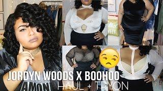 getlinkyoutube.com-PLUS SIZE JORDYN WOODS X BOOHOO FASHION HAUL + TRY ON & THOUGHTS