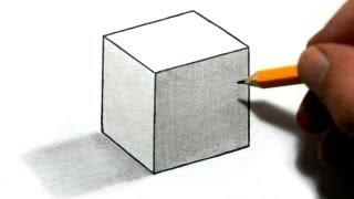 getlinkyoutube.com-How to Draw a Cube