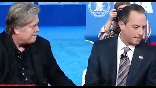 getlinkyoutube.com-WATCH: Reince Priebus freak out when Steve Bannon touches his leg