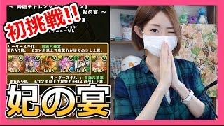 getlinkyoutube.com-【パズドラ】降臨チャレンジ!妃の宴に初挑戦!!Part156【ろあ】