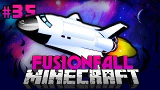 Galaktisches SPACE SHUTTLE?! - Minecraft Fusionfall #035 [Deutsch/HD]