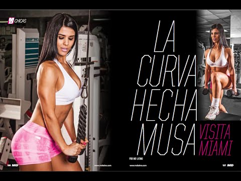 Fitness Model Eva Andressa en Miami