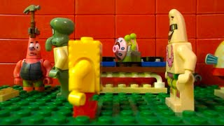 """getlinkyoutube.com-Lego Spongebob ep. 2 """"Patricks New House"""""""