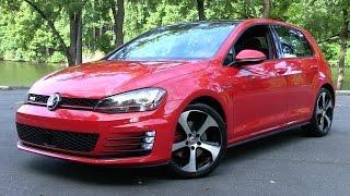 getlinkyoutube.com-2015 Volkswagen Golf GTI Autobahn (Mk7) Start Up, Road Test, and In Depth Review