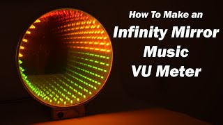 getlinkyoutube.com-Infinity Mirror Music VU Meter Electronics Project using LM3915 IC