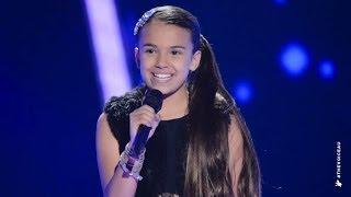 getlinkyoutube.com-Sienna Sings Wrecking Ball | The Voice Kids Australia 2014