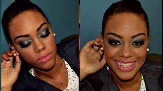 getlinkyoutube.com-Maquiagem especial para peles negras e mulatas - Outono/Inverno