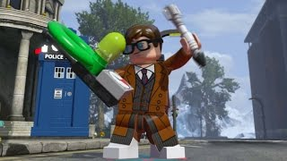 getlinkyoutube.com-LEGO Dimensions - All 13 Doctor's Idle Animations (Doctor Who Level Pack)