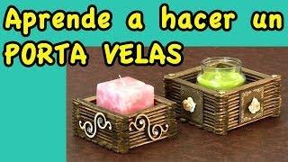 getlinkyoutube.com-Manualidades Porta Velas