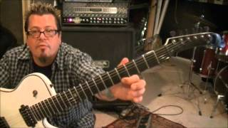 How to play Alone by Bullet For My Valentine on guitar by Mike Gross