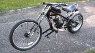 getlinkyoutube.com-Motorized Chopper Bike