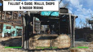 getlinkyoutube.com-Fallout 4 Guide - How to place close fences, make shops & do indoor wiring