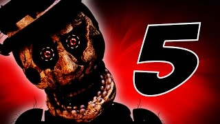 TRAPPED! | Easter Eggs & Secrets! | The Return to Freddy's 5