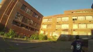 getlinkyoutube.com-Abandoned Places - Exploring Abandoned South Middle School - Bloomfield NJ