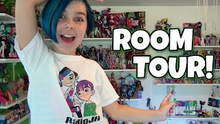 getlinkyoutube.com-Room Tour - My Little Pony, Minecraft, Monster High, LEGO, Star Wars and More