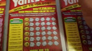 getlinkyoutube.com-Yahtzee Florida Lottery Scratch Off Ticket