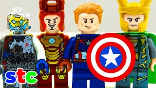 getlinkyoutube.com-LEGO Super Heroes Aventuras Ironman vs Ultron