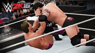 getlinkyoutube.com-WWE 2K16 CATCHING FINISHERS! (PS4/XboxOne!)