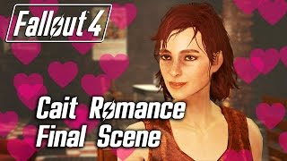 getlinkyoutube.com-Fallout 4 - Cait Romance - Final Scene