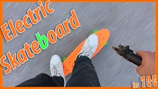 getlinkyoutube.com-Electric pennyboard (Homemade for 70€)