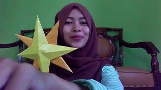 getlinkyoutube.com-Cara Membuat Bintang Dari Kertas