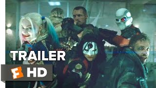 getlinkyoutube.com-Suicide Squad Official Comic-Con Remix Trailer (2016) - Margot Robbie Movie