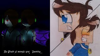 getlinkyoutube.com-Skybrine and Enderlox Tribute: My Songs Know What you did in the Dark