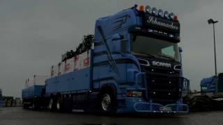 getlinkyoutube.com-Spedition Schumacher Scania V8