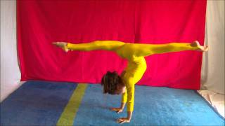 getlinkyoutube.com-Erifilly - Handstands - Can be Interesting !! Watch and Learn !!! :)XXX