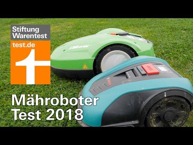 Rasenroboter Test 2018: Zwei Mähroboter versagen im Sicherheitstest