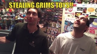 getlinkyoutube.com-Grims Toy Show Ep 491: WWE Mattel wrestling figures collections and loose displays reviewed
