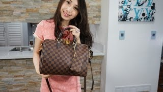getlinkyoutube.com-Review Wear and Tear: Louis Vuitton Speedy Bandouliere 30 (color difference) HD