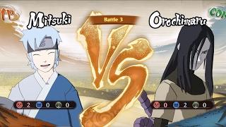 Naruto: Road to Boruto - Mitsuki vs Orochimaru | Gameplay (HD) [1080p60FPS]