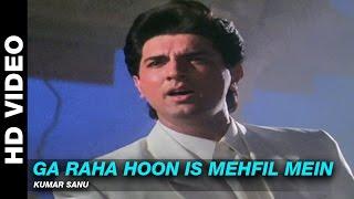 getlinkyoutube.com-Ga Raha Hoon Is Mehfil Mein - Dil Ka Kya Kasoor | Kumar Sanu | Prithvi & Divya Bharti