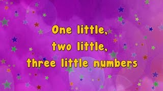 getlinkyoutube.com-Karaoke - Numbers Song | Ten Little Numbers | Karaoke Rhymes