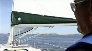 getlinkyoutube.com-How to Sail a Sailboat : How to Sail a Boat Downwind