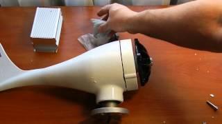 getlinkyoutube.com-Китайський вітрогенератор 400 Вт з контролером. Wind Generator from China. Китайский ветрогенератор.