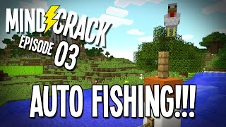 "Minecraft Mindcrack Server Ep 03 - ""Auto Fishing On Lake SuckItAnderz!!!"""